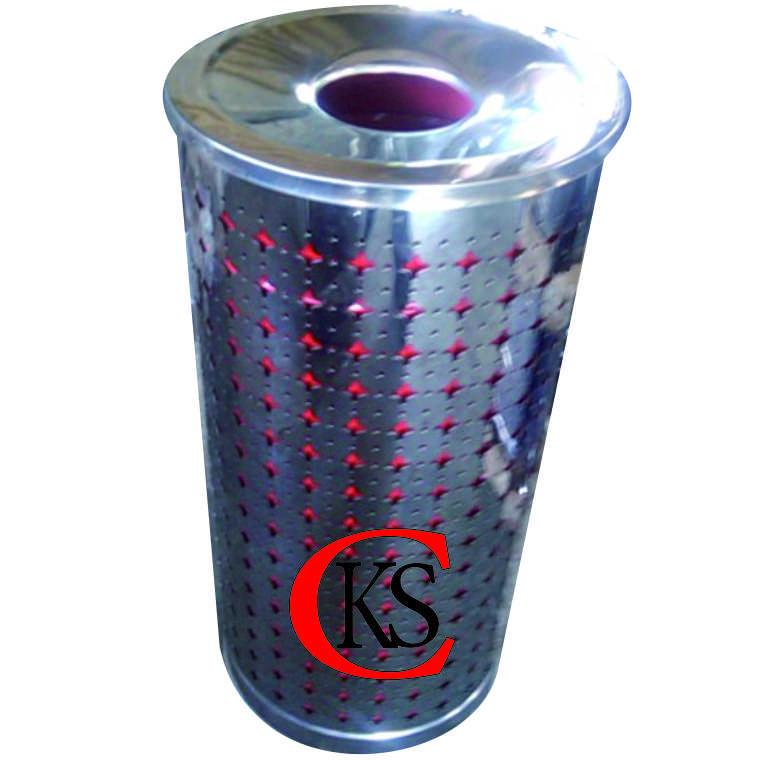 ashtray perforasi asbak perforasi ashtray hexagonal cv